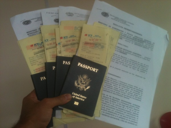 costa-rica-permanent-residency-paperwork