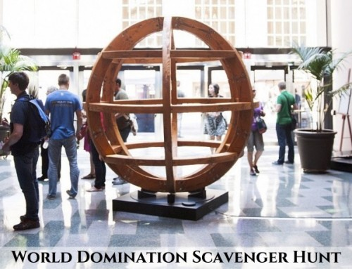 WDS 2015 Scavenger Hunt and Bigger/Better