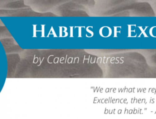 The Re-launch of my Weekly Newsletter – Habits of Excellence