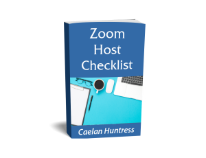 Zoom Host Checklist cover