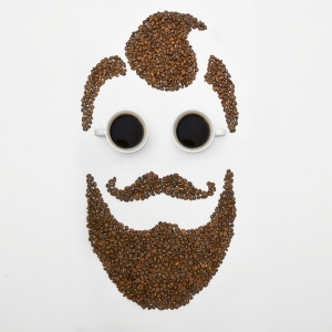 coffee beans face