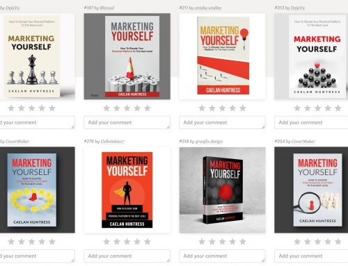Marketing Yourself book cover revealed!