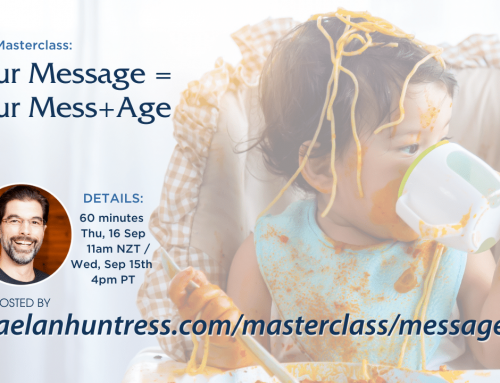 Your Message = Your Mess+Age