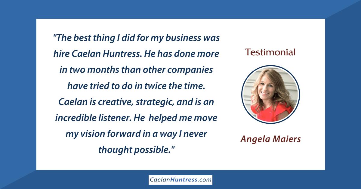 Angela Maiers testimonial
